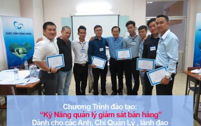"""Đào tạo public: """"Kỹ Năng Quản Lý và Giám Sát bán hàng hiệu quả"""" tại Hồ Chí Minh"""