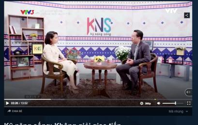 Diễn Giả Trần Đình Tuấn Chia sẻ trên VTV3 : Không giỏi giao tiếp