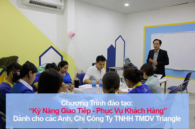 Chương trình đào tạo cho Công Ty TNHH TMDV Triangle Education