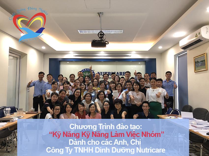 Chương trình đào tạo cho Công Ty TNHH DINH DƯỠNG NUTRICARE