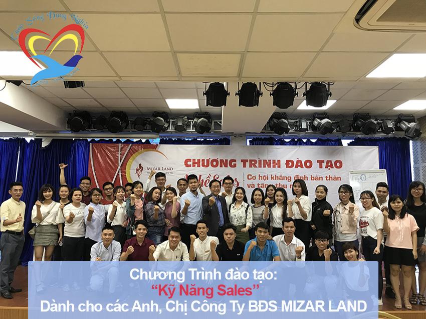 Chương trình đào tạo cho Công Ty Bất Động Sản Mizarland