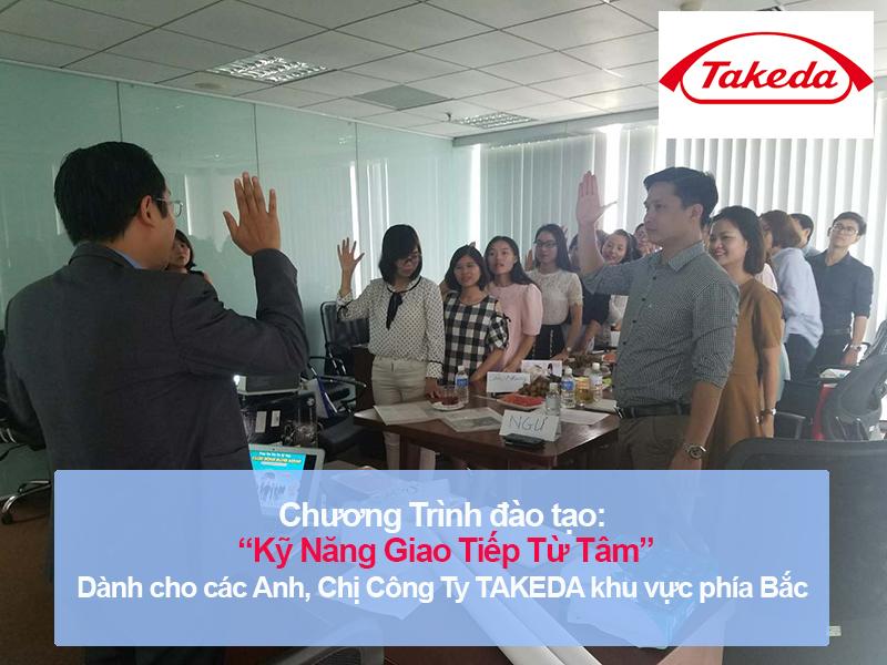 Chương trình đào tạo cho Văn Phòng Đại Diện Takeda Pharmaceuticals Tại Hà Nội