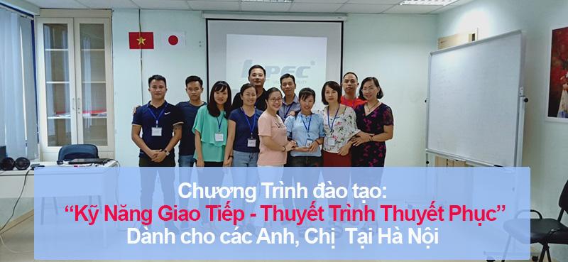 """Đào tạo public: """"Kỹ Năng Giao Tiếp và Thuyết Trình Thuyết Phục"""" tại Hà Nội tháng 9"""