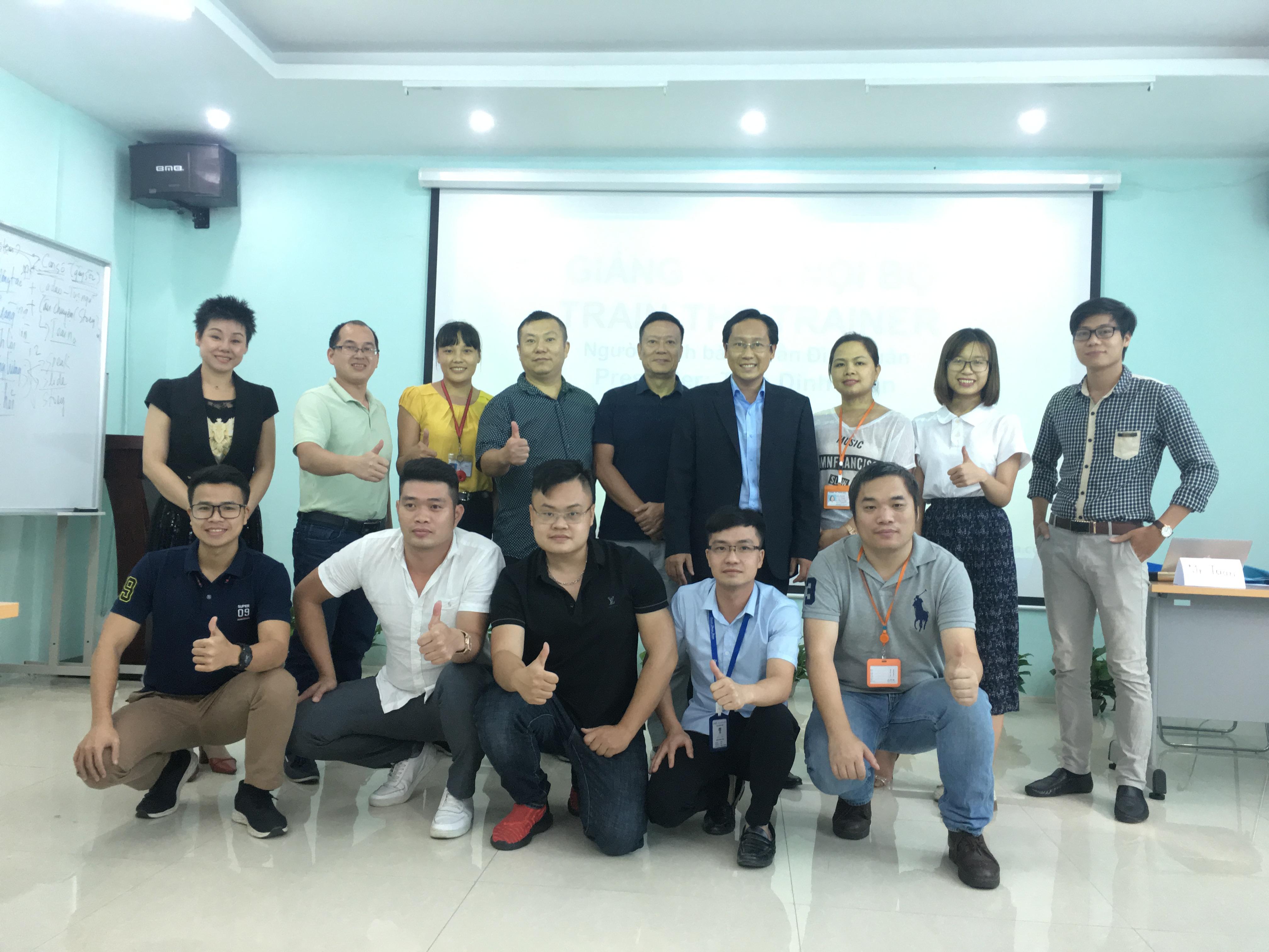 Chương trình Đào tạo giảng viên nội bộ – Train The Trainer Cho Công ty Sunrise