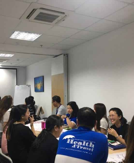 Chương Trình đào tạo kỹ năng giao tiếp bán hàng và chăm sóc khách hàng hiệu quả cho Công Ty TNHH Một Thành Viên Pacific Cross Việt Nam
