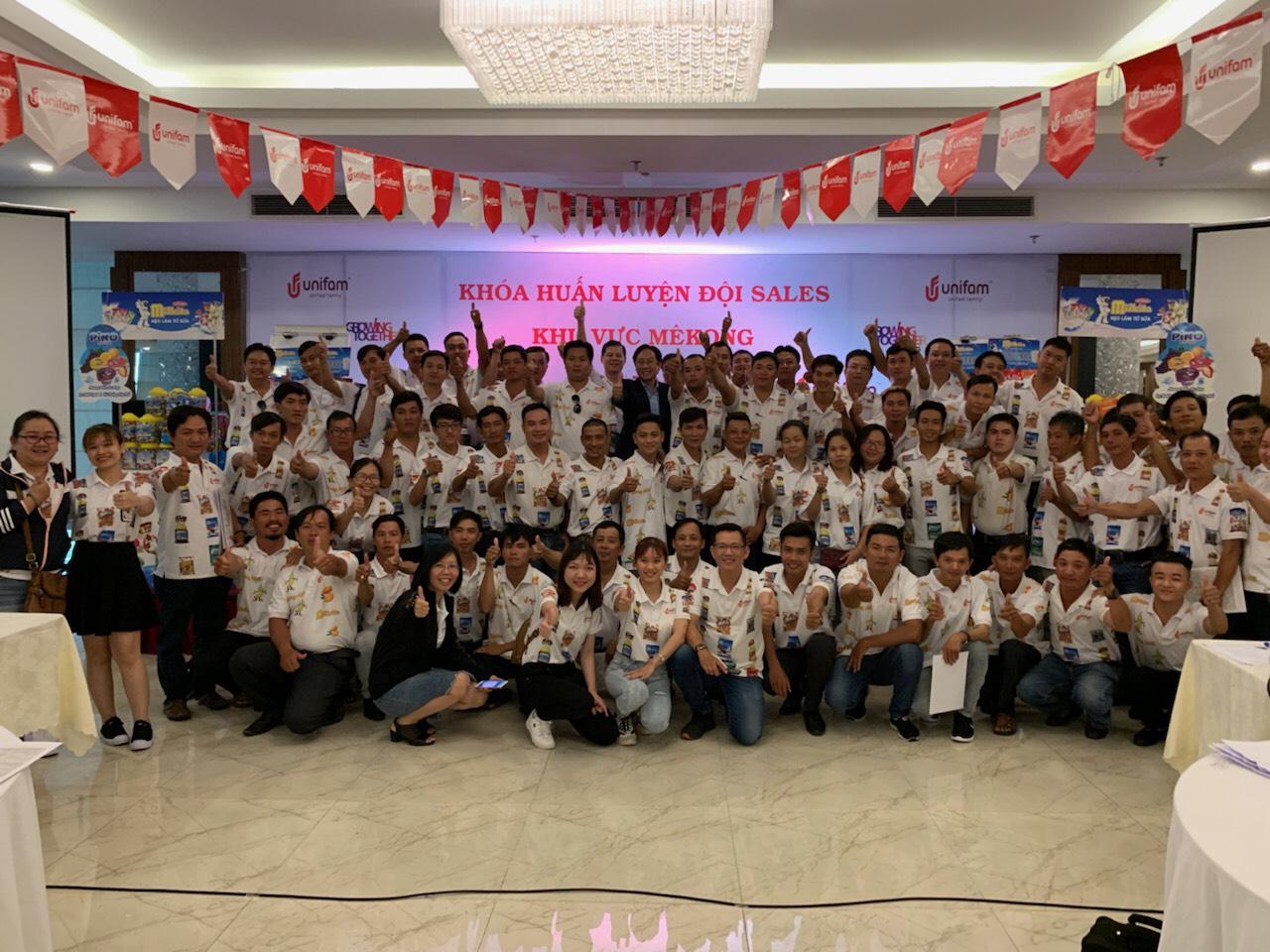 Chương Trình đào tạo cho đội ngũ Sale của Công Ty Unifam Tại Cần Thơ