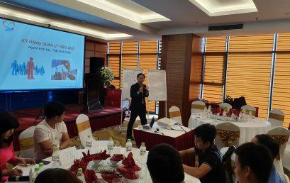 Chương Trình đào tạo kỹ năng quản lý lãnh đạo hiệu quả cho Công Ty TNHH CUTECH VIỆT NAM