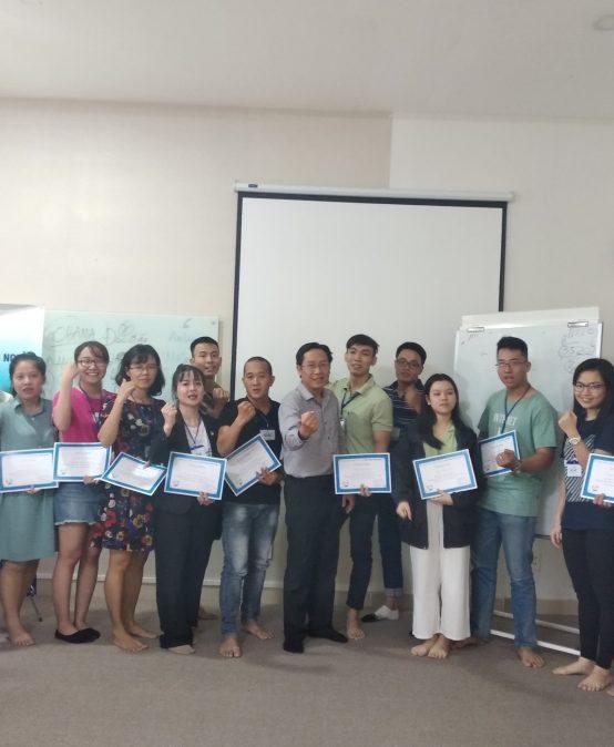 """Đào tạo public: """"kỹ năng giao tiếp thuyết trình"""" tại Hồ Chí Minh tháng 08 năm 2019"""